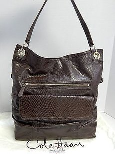 Cole Haan Snake Leather Shoulder Bag
