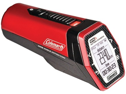 Coleman Coleman Aktivsport Pov 1080P High Definition 16 Megapixel Sports & Action Camera With Gps (Red)