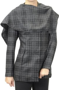 Color Me Cotton CLICK Collection Plaid Coat