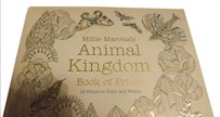 Coloring Print Book New in Plastic, Animal Kingdom Book of Prints for Coloring