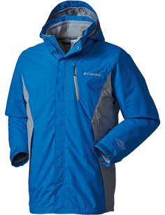 Columbia Coat Waterproof Hyper Blue Jacket