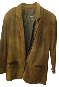 Comint Olive green Leather Jacket