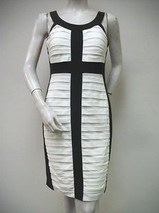 Connected Apparel White Dress