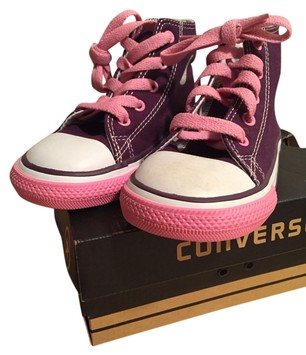 Converse White Pink Tennis Sneakers Brand New Children's ...
