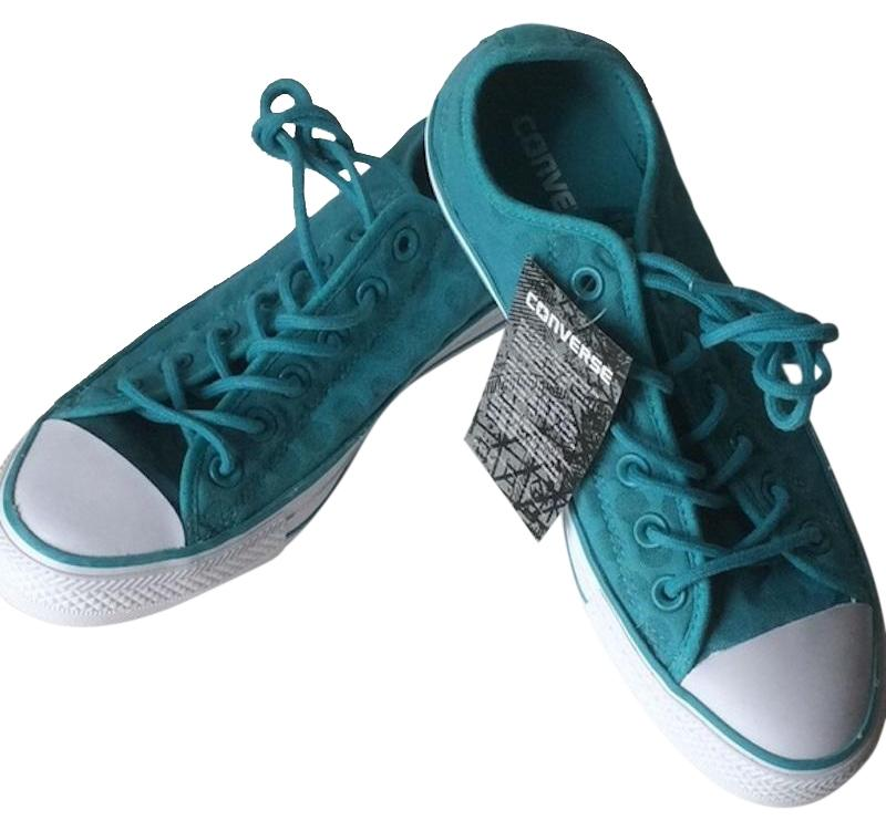 Converse Turquoise Chuck Taylor Oxfords Sneakers Size US 8 Regular (M, B)