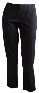 CoSTUME NATIONAL Stretch Flat Front Cropped Hs1385 Pants