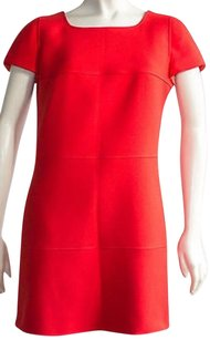 Courreges short dress Red Bright on Tradesy