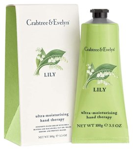Crabtree & Evelyn Crabtree & Evelyn London Lily Ultra-Moisturising Hand Therapy 3.5 OZ (100g) New