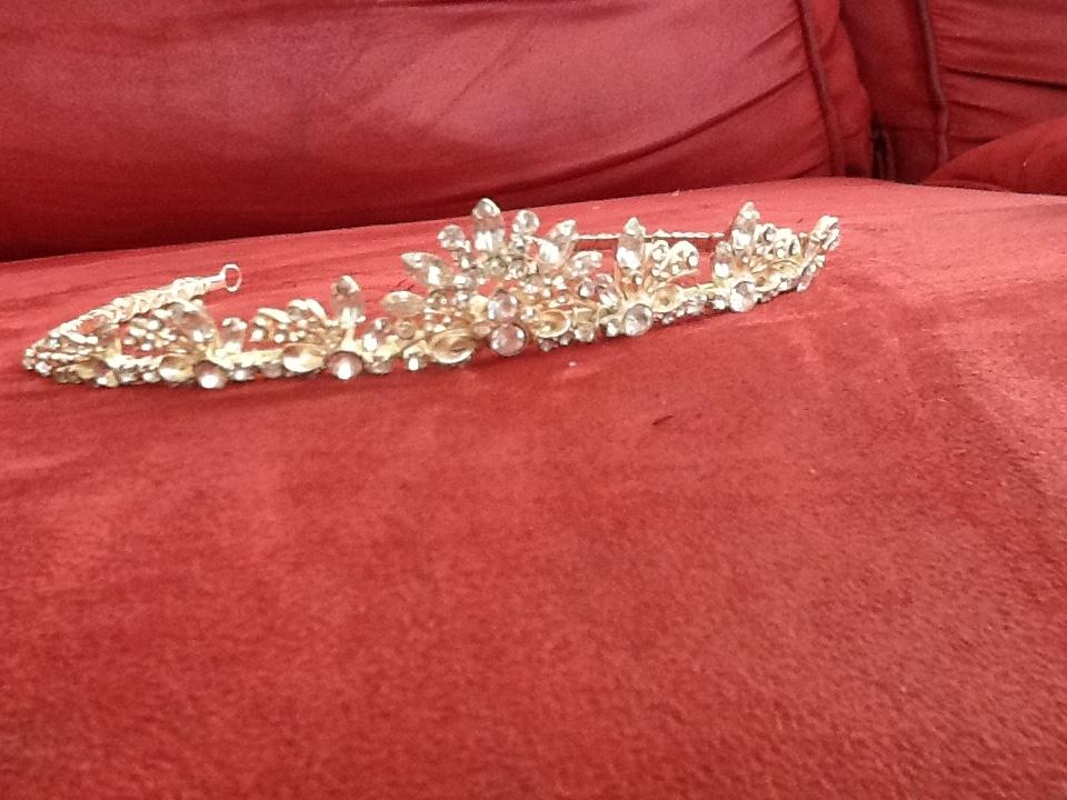 Crystal Tiara from Davids Bridal