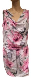 Cynthia Steffe short dress White Pink Grey on Tradesy