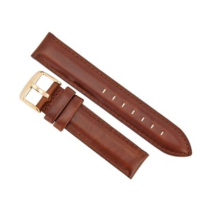 Daniel Wellington St. Mawes 18 mm Leather Watch Band Strap - Brown 0707DW