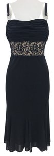 David Meister Lace Classic Embellished Dress