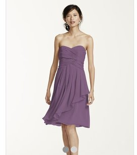 David's Bridal Wisteria Dress