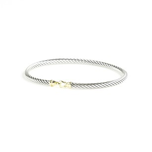 David Yurman Accessories,womens,dy_bracelet_cablebuckle_gold_3mm