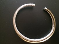 David Yurman AUTHENTIC DAVID YURMAN CROSSOVER BRACELET
