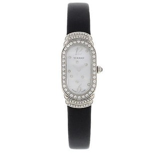 David Yurman David Yurman Madison T409-p8w 18k White Gold Original Diamonds Womens Watch