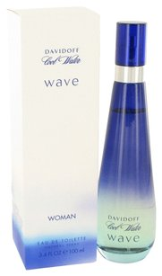 davidoff Cool Water Wave By Davidoff Eau De Toilette Spray 3.4 Oz