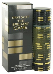 davidoff THE BRILLIANT GAME by DAVIDOFF ~ Men's Eau de Toilette Spray 3.4 oz