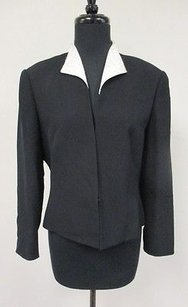 Daymor Couture Poly Black Jacket
