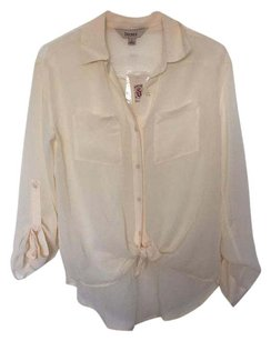 Decree Button Down Shirt Cream