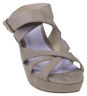 Delman Grey Wedges