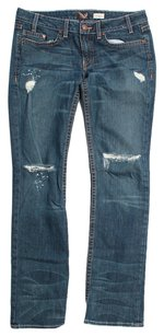 Denim of Virtue Straight Leg Jeans-Medium Wash