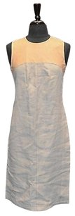 Derek Lam short dress Beige/Tan B2 Linen And on Tradesy