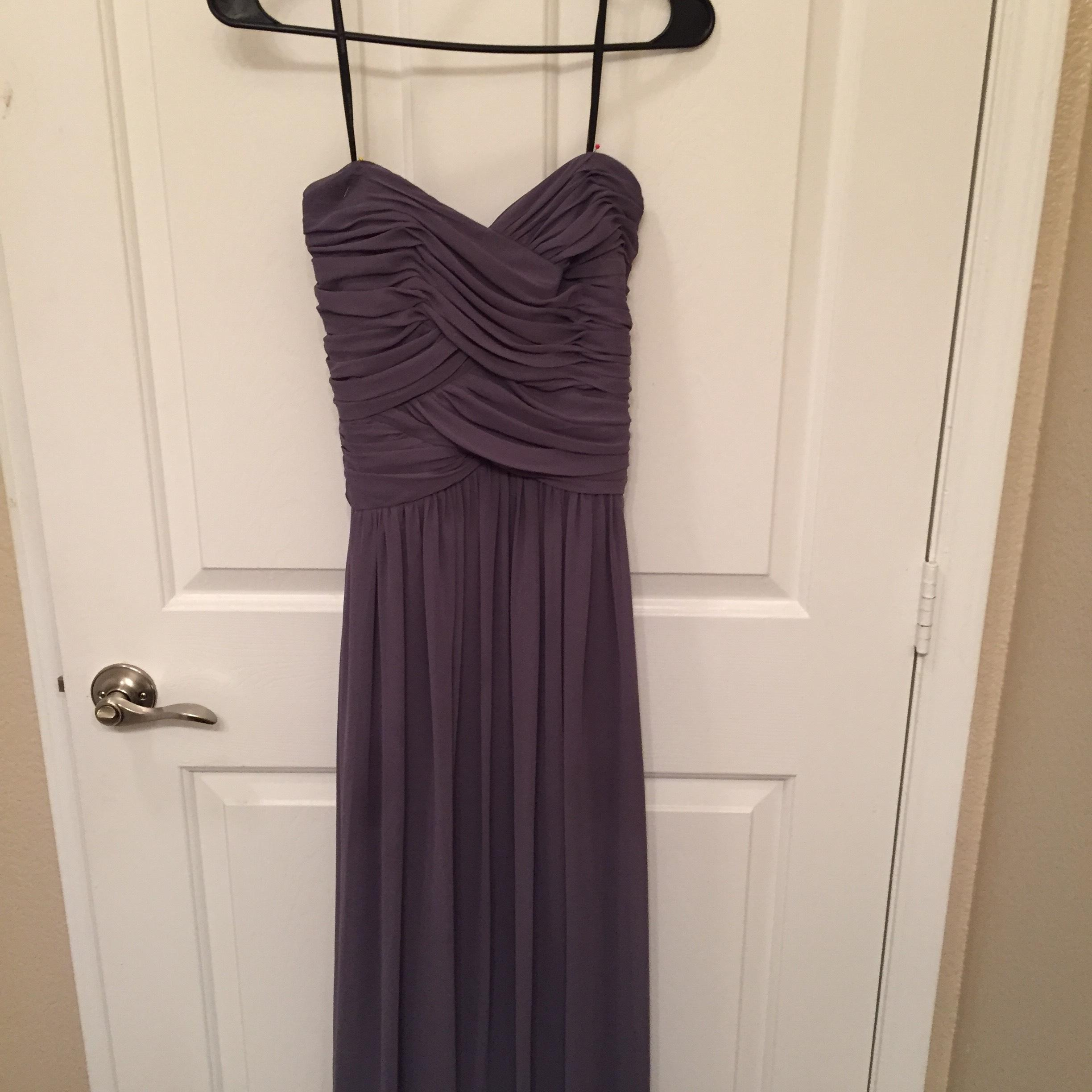 Dessy Collection in stormy size 8