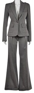 Diane von Furstenberg Diane Von Furstenberg Womens Gray Pant Suit 46 Wool Blazer Trousers Wtw