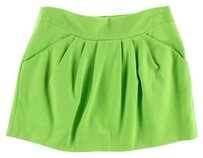 Diane von Furstenberg Mini Skirt Electric Green