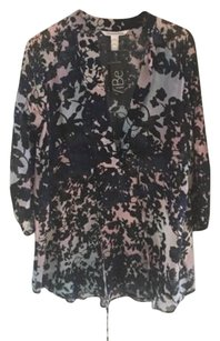 Diane von Furstenberg short dress Multi-Color Floral Tunic For Summer on Tradesy