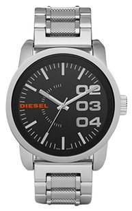 Diesel Black Dial Stainless Steel Men's Watch