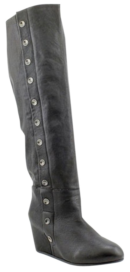 Diesel Black Gold Boots/Booties Leather Boots/Booties Gold Size US 8.5 9d8847