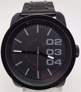 Diesel Diesel Mens Dz1371 Not So Basic Basic Black Watch