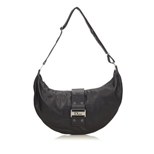 Dior Black Leather Others Shoulder Bag
