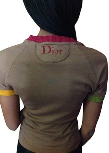 Dior T Shirt Brown/multi colored