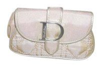 Dior Christian Dior Beauty beige/nude Makeup Cosmetic Clutch Bag NEW withou