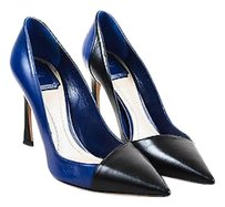 Dior Christian Blue Black Pumps