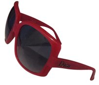 Dior Dior Hot pink over sized sunglasses