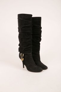 Dior Christian Black Suede Boots