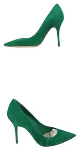 Dior Christian Cherie Pointy Green Boots