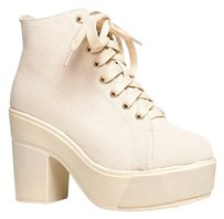 Dirty Laundry Beige Boots