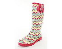 Dirty Laundry Good Geometric multi-colored Boots