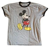 Disney T Shirt Grey/Black/Multi