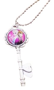 Disney New! Disney's FROZEN Key Shaped Pendant with Chain : Elsa