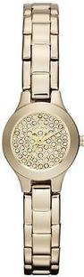 DKNY Dkny Gold-tone Glitter Ladies Watch Ny8692