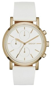 DKNY NY2337 DKNY Soho White Leather Strap Chronograph Women's Watch