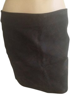 DKNY Skirt Dark Brown.