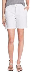 DL1961 Sol Lily Brushed Bermuda Shorts White