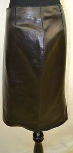 Dolce&Gabbana Wow Dg Sheep Skin Wlabel 14us 44euc Skirt Black